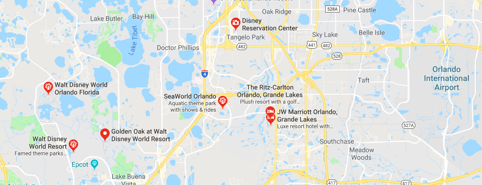 Homes near Disney World