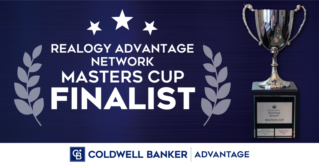Coldwell Banker Advantage Named Finalist For The 2021 Realogy Advantage Network Masters Cup. Main Photo