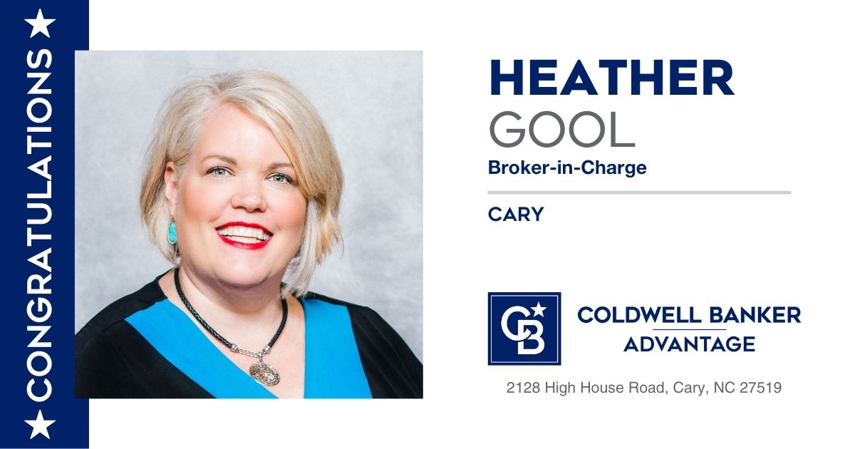 Gool takes helm as new Broker-In-Charge of Coldwell Banker Advantage Cary sales office Main Photo
