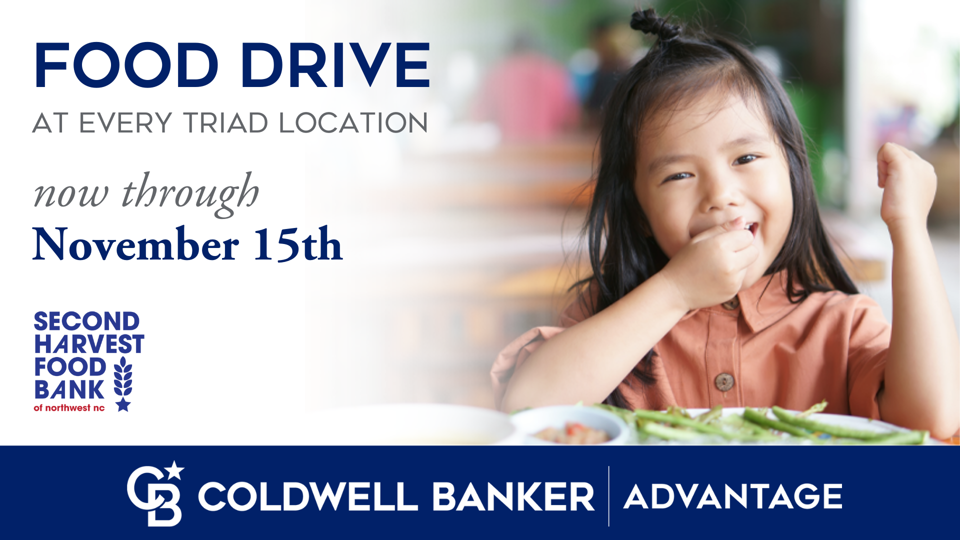 Annual Food Drive in the Triad, Now Through Nov. 15th Picture