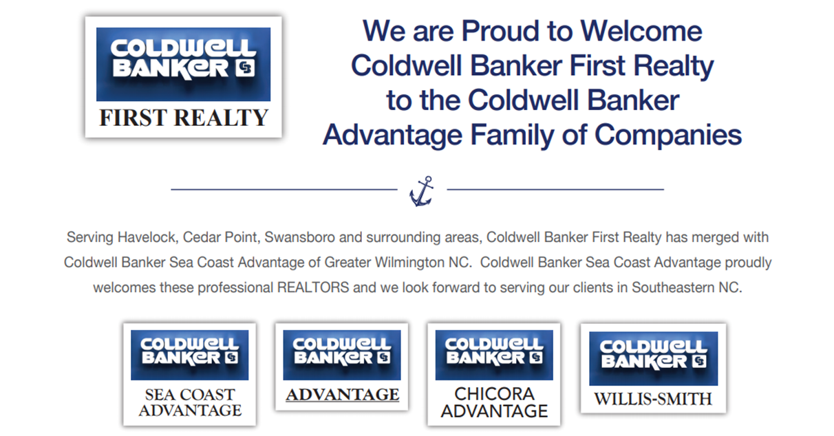 Coldwell Banker Advantage welcomes Coldwell Banker First Realty to family of companies. Main Photo