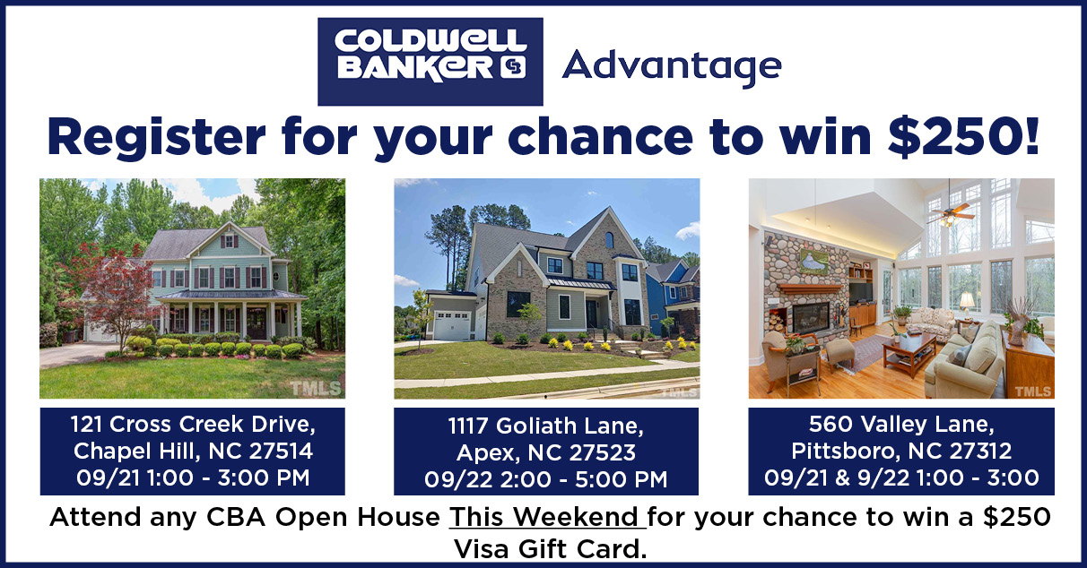 Attend one of our Open Houses and enter to win $250! Main Photo