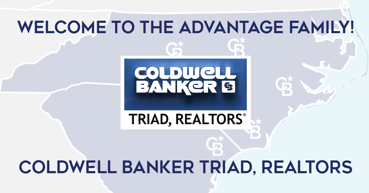 COLDWELL BANKER ADVANTAGE EXPANDS INTO GREENSBORO, WINSTON-SALEM, TRIAD MARKET BY JOINING WITH COLDWELL BANKER TRIAD, REALTORS Main Photo