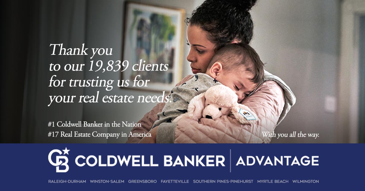 Coldwell Banker Advantage Thanks Their Over 19,800 Clients For Tremendous Honor In 2020 Real Trends Top 500 Report. Main Photo