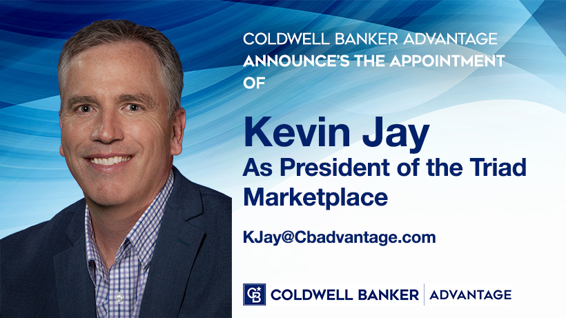 Coldwell Banker Advantage is pleased to announce the appointment of Kevin Jay as President of the Triad Marketplace. Main Photo