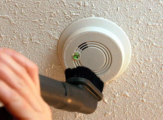 Smoke Detector Maintenance Main Photo