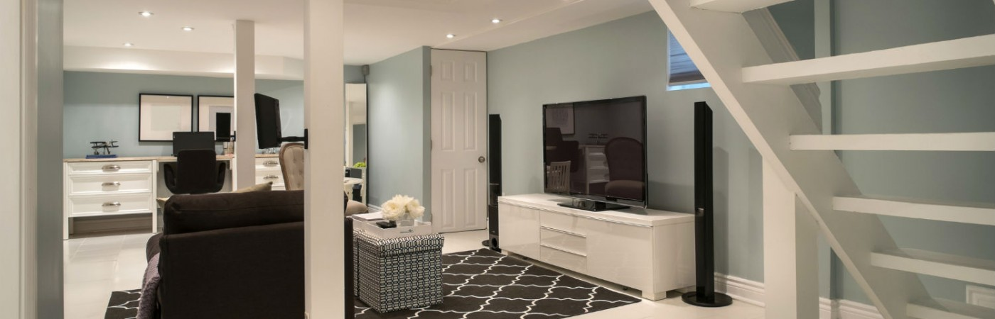 How to Partially Finish Your Basement on a Budget Picture
