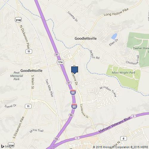 Goodlettsville Office Map Location