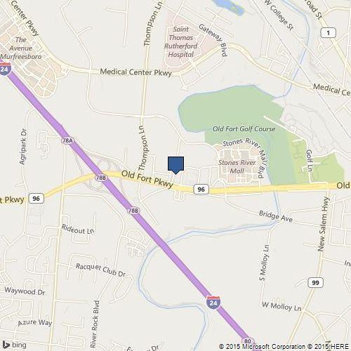 Murfreesboro Office Map Location