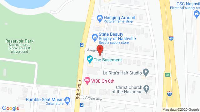 Nashville Urban Office Map Location