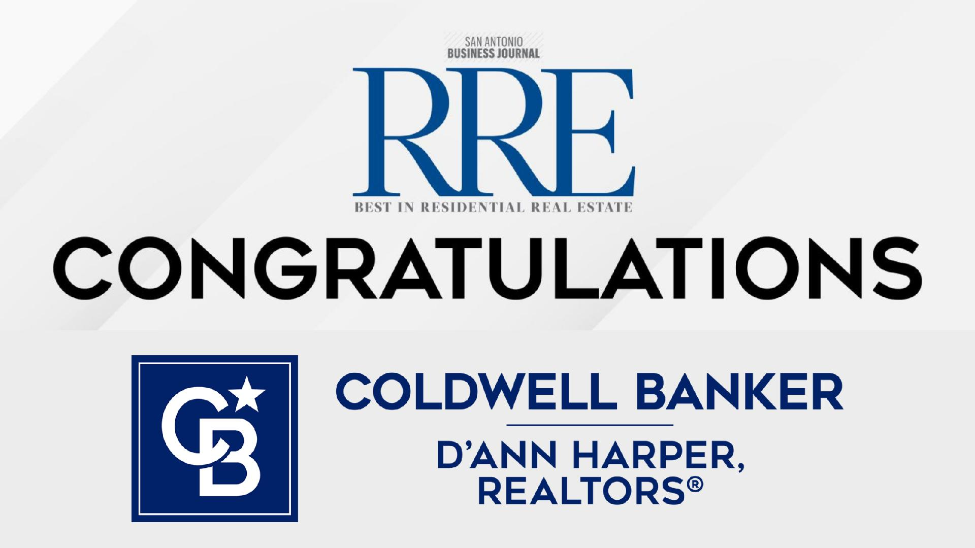 Coldwell Banker D'Ann Harper, REALTORS® Top Agents & Teams Recognized by SABJ as the 2021 Best in Residential Real Estate Main Photo