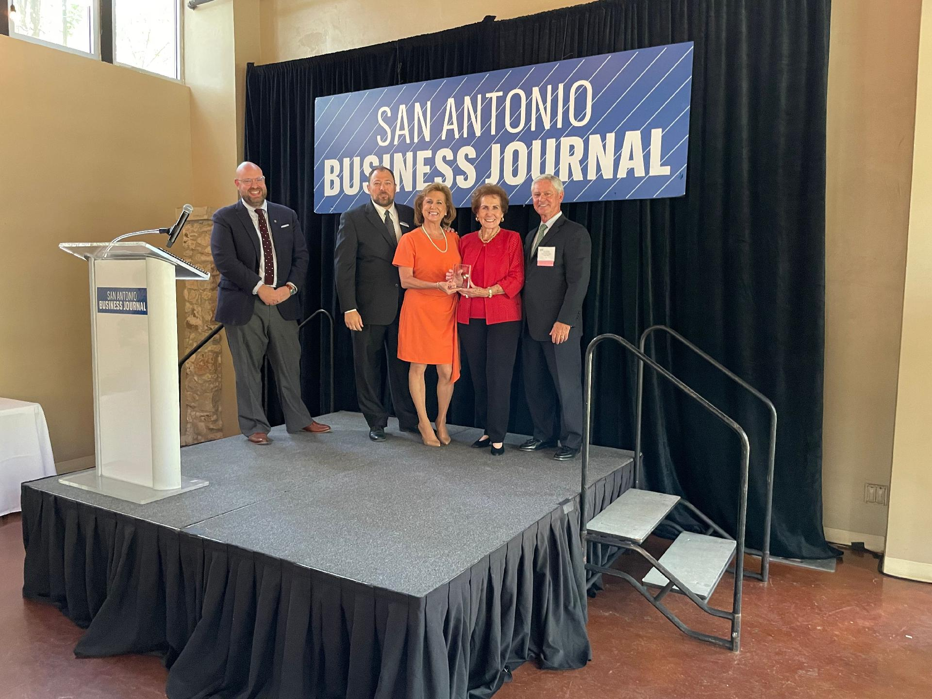 2021 Family-Owned Business Award Picture