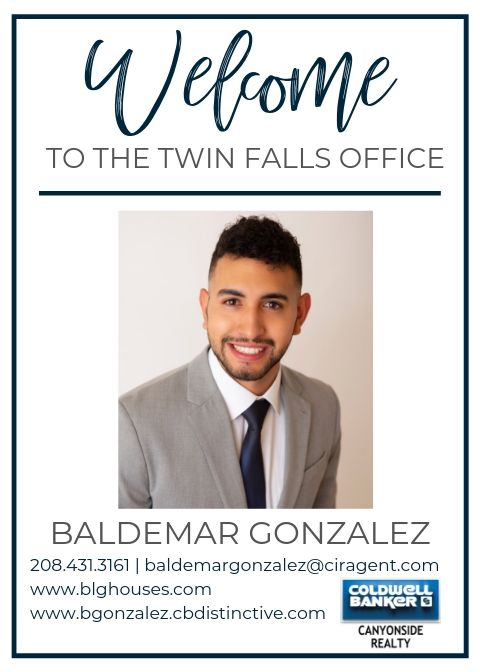 Please help us welcome Baldemar Gonzalez to our Coldwell Banker family! Main Photo