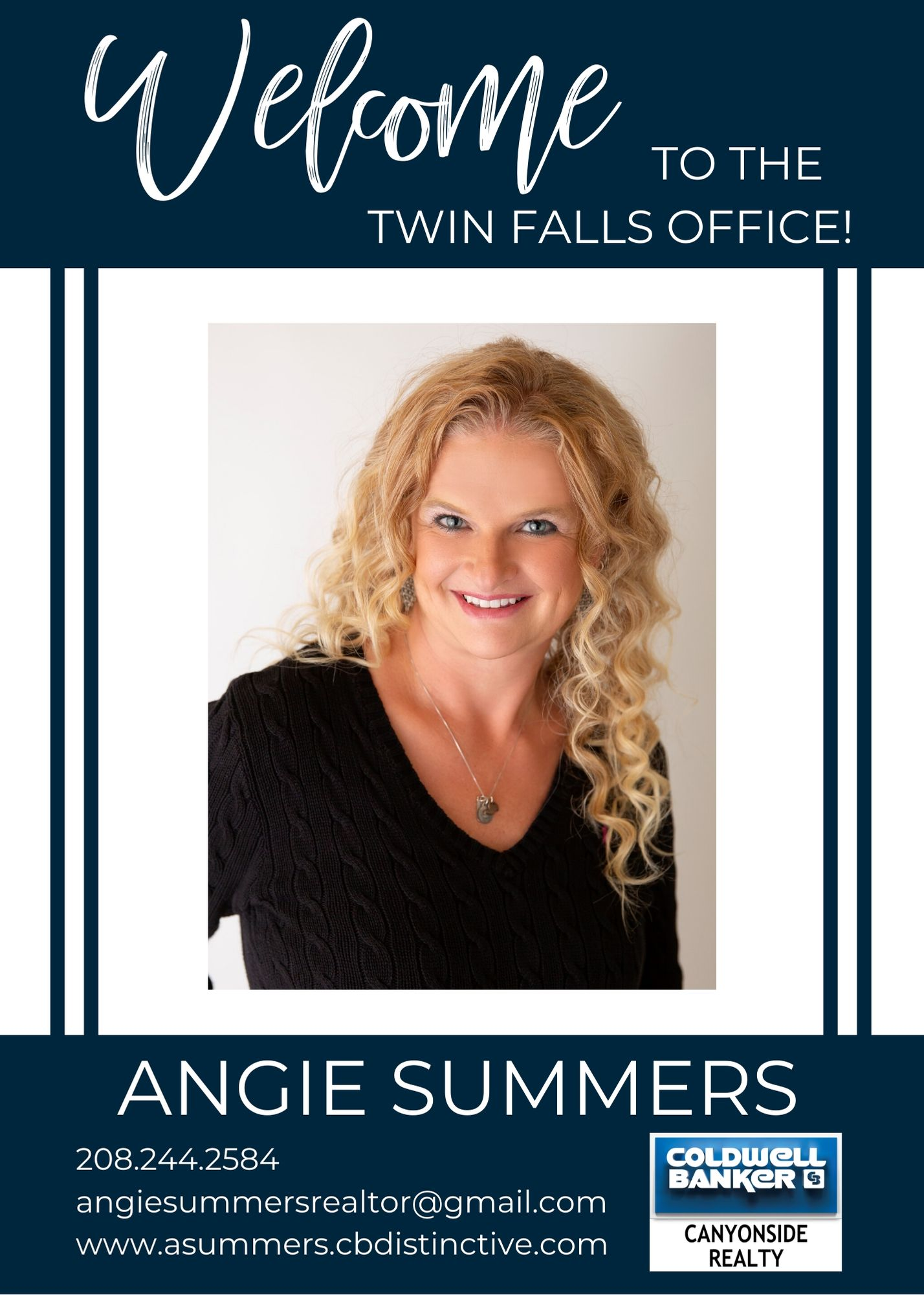 We are excited to announce that Angie Summers has joined our Coldwell Banker family! Main Photo