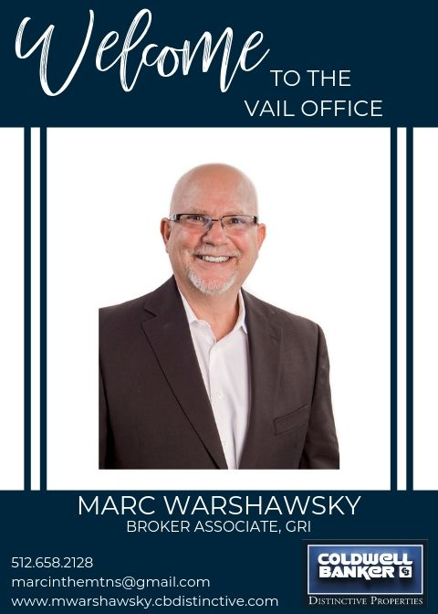 Please help us welcome Marc Warshawsky to our Coldwell Banker family! Main Photo