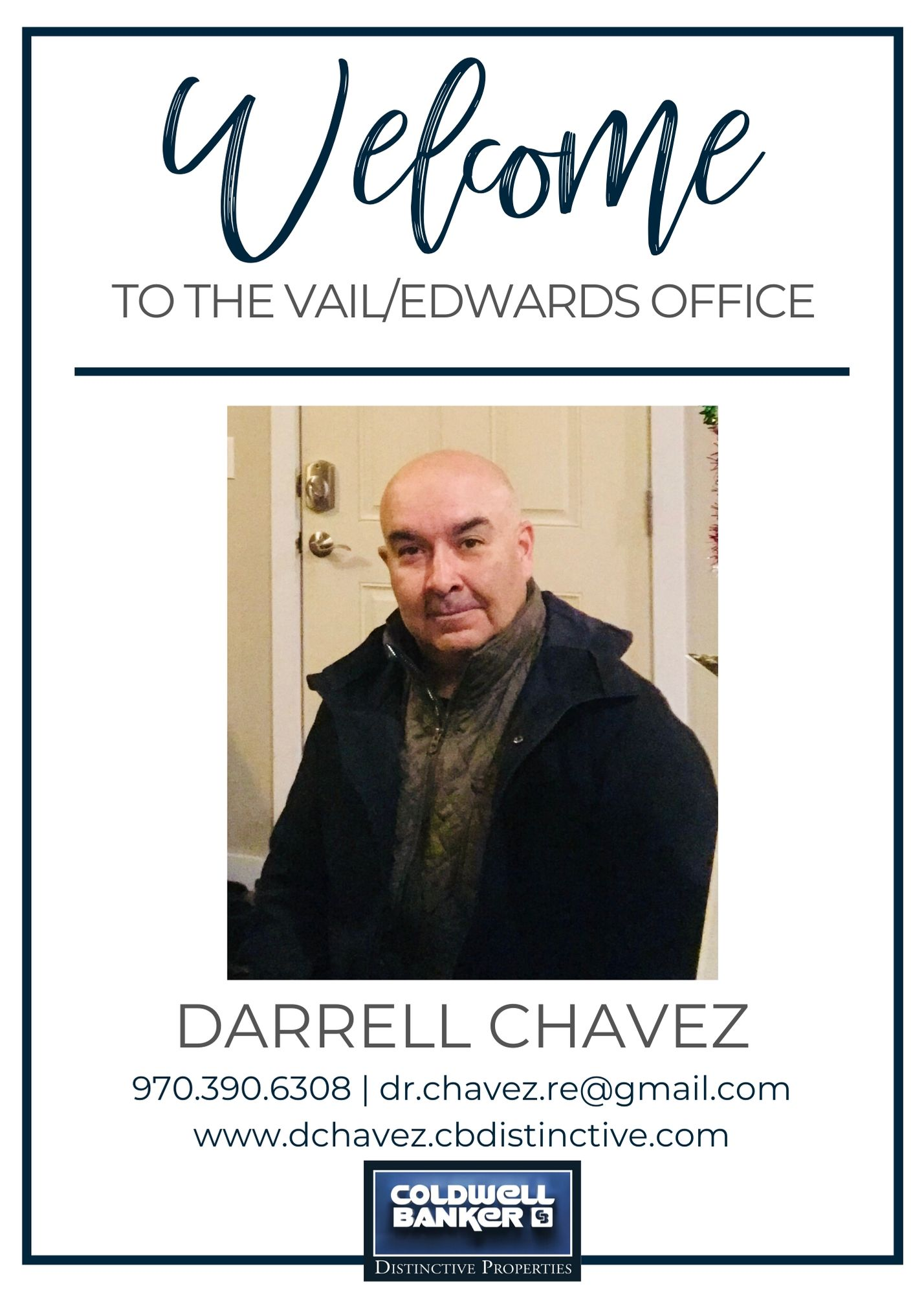 Please help us welcome Darrell Chavez to our Coldwell Banker family! Main Photo