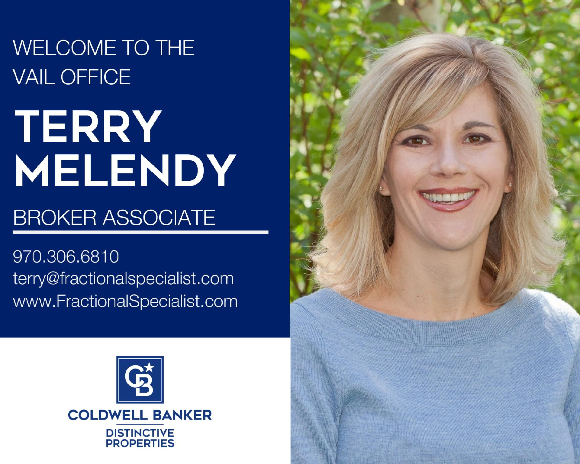 Please help us welcome Terry Melendy to our Coldwell Banker family! Main Photo