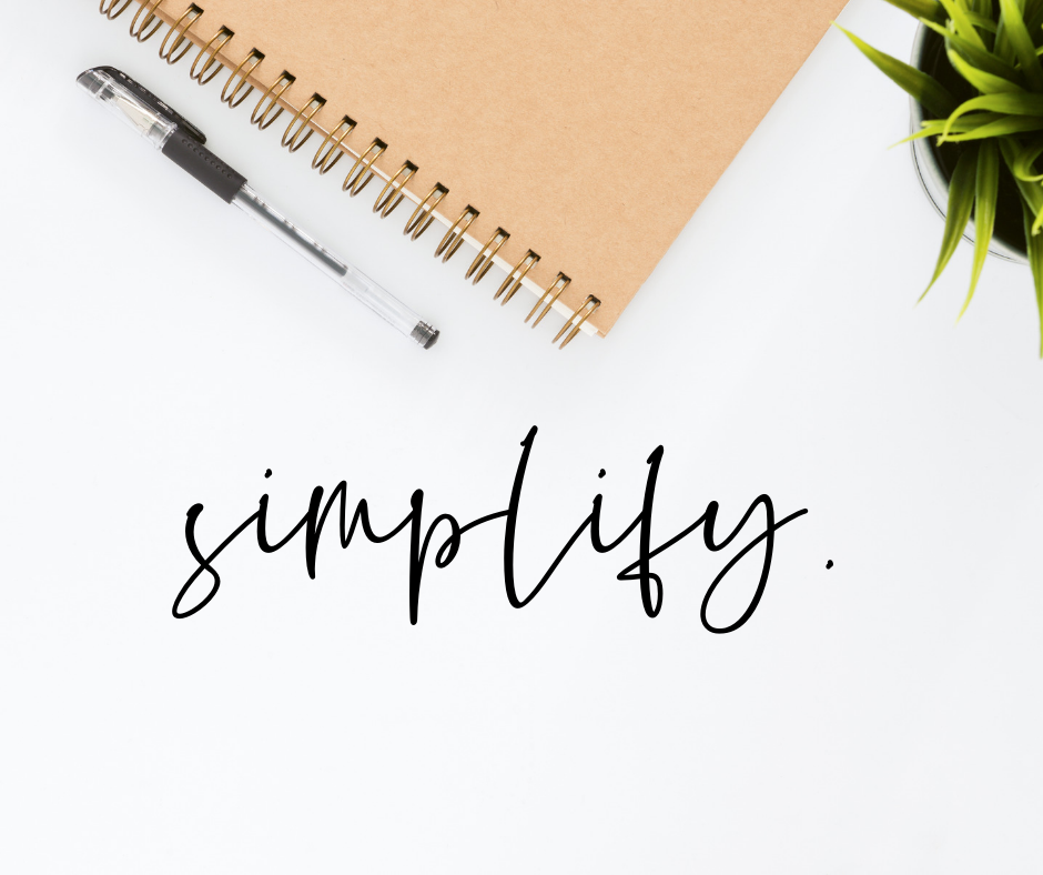 Simplify Your Life Main Photo