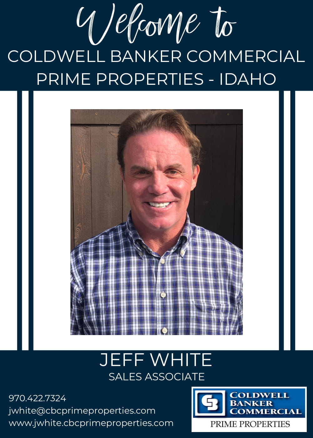 We are really excited to welcome Jeff White 'Whitey' to our Coldwell Banker family! Main Photo