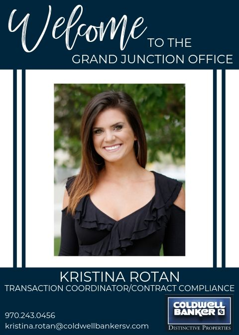 Please help us welcome Kristina Rotan to our Coldwell Banker family! Main Photo