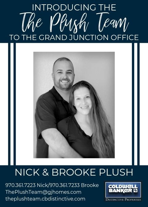 Please help us welcome Brooke and Nick Plush, The Plush Team, to our Coldwell Banker family! Main Photo