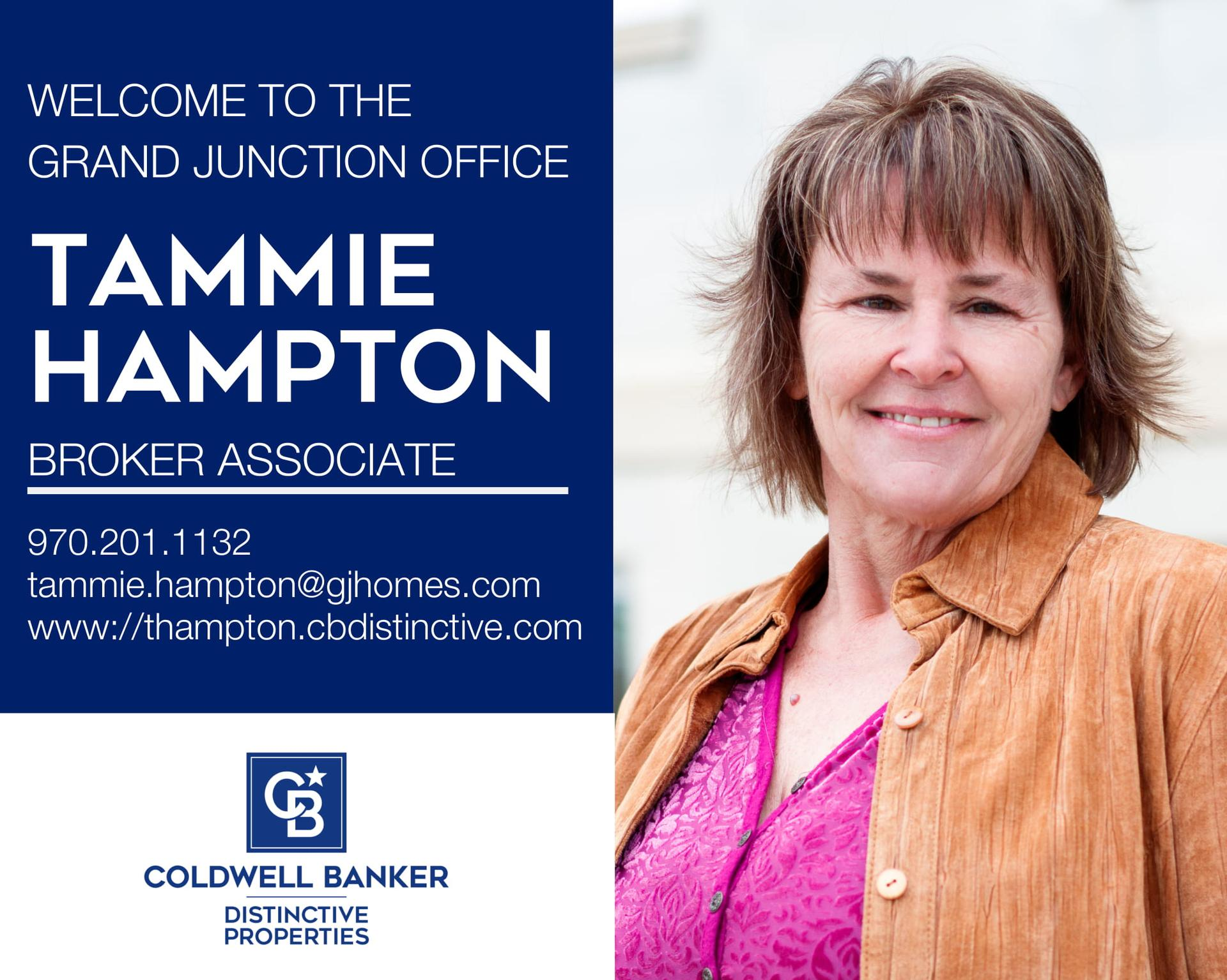 Please help us welcome Tammie Hampton to the Wingerter Team and to our Coldwell Banker family! Main Photo