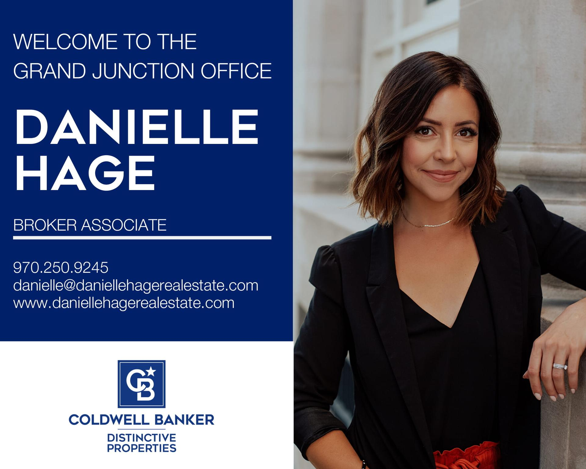 Please help us welcome Danielle Hage back into our Coldwell Banker family! Main Photo