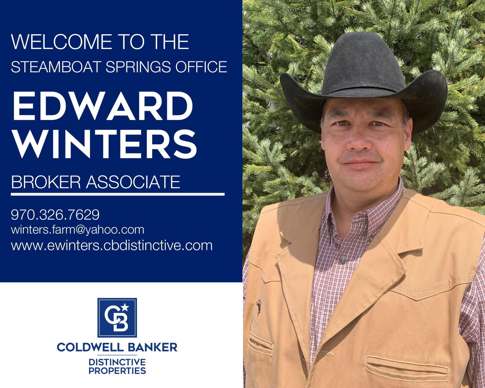 Please help us welcome Edward T. Winters to our Coldwell Banker family! Main Photo