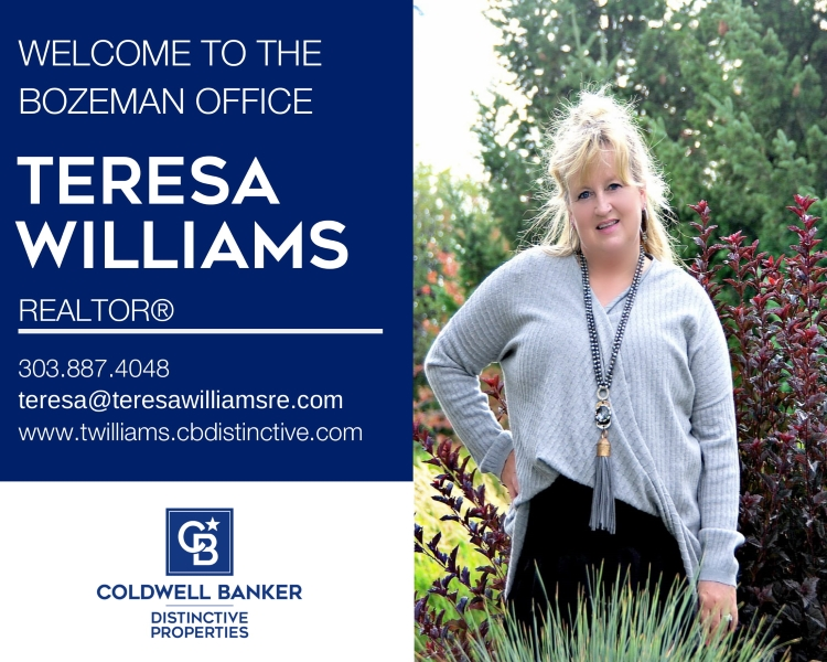 Please help us welcome Teresa Williams to our Coldwell Banker family! Main Photo