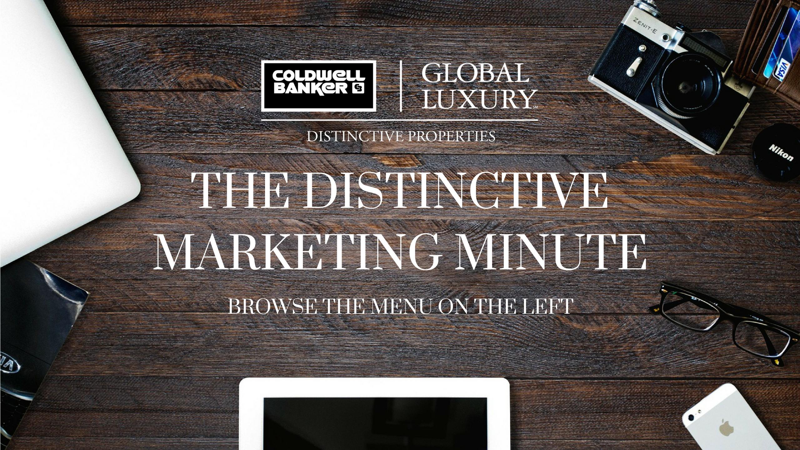 Distinctive Marketing Minute