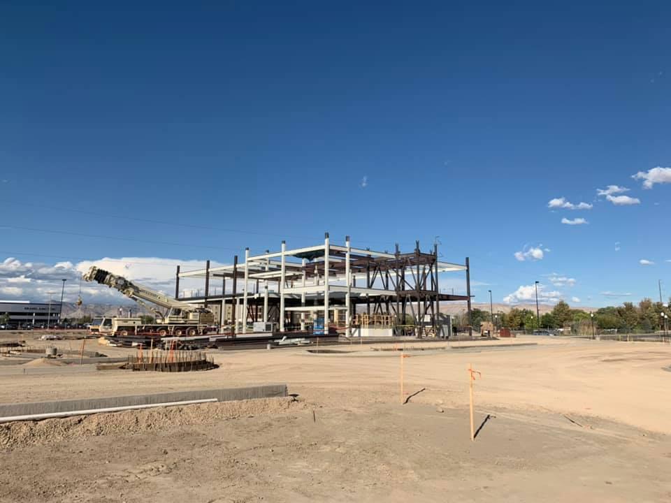 Timberline Bank - Construction Progress