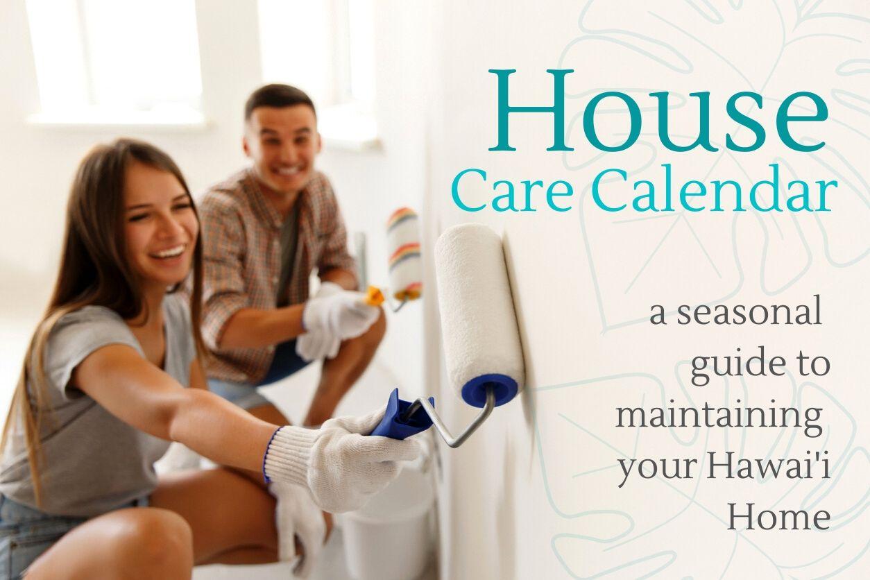 HOUSE CARE CALENDAR Main Photo