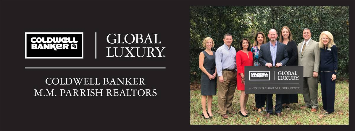 Coldwell Banker M.M. Parrish Realtors Announces Global Luxury Property Specialist Designation Main Photo