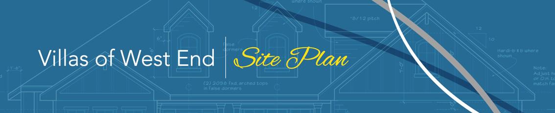 Villas of West End Siteplan
