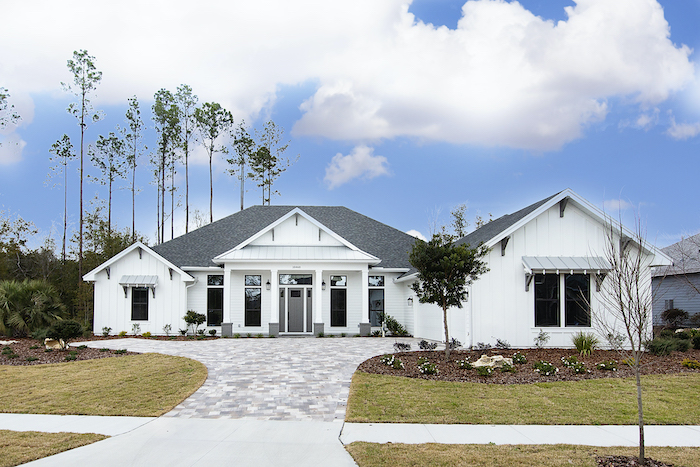 Barry Bullard new construction home in Estates of Wilds Plantation