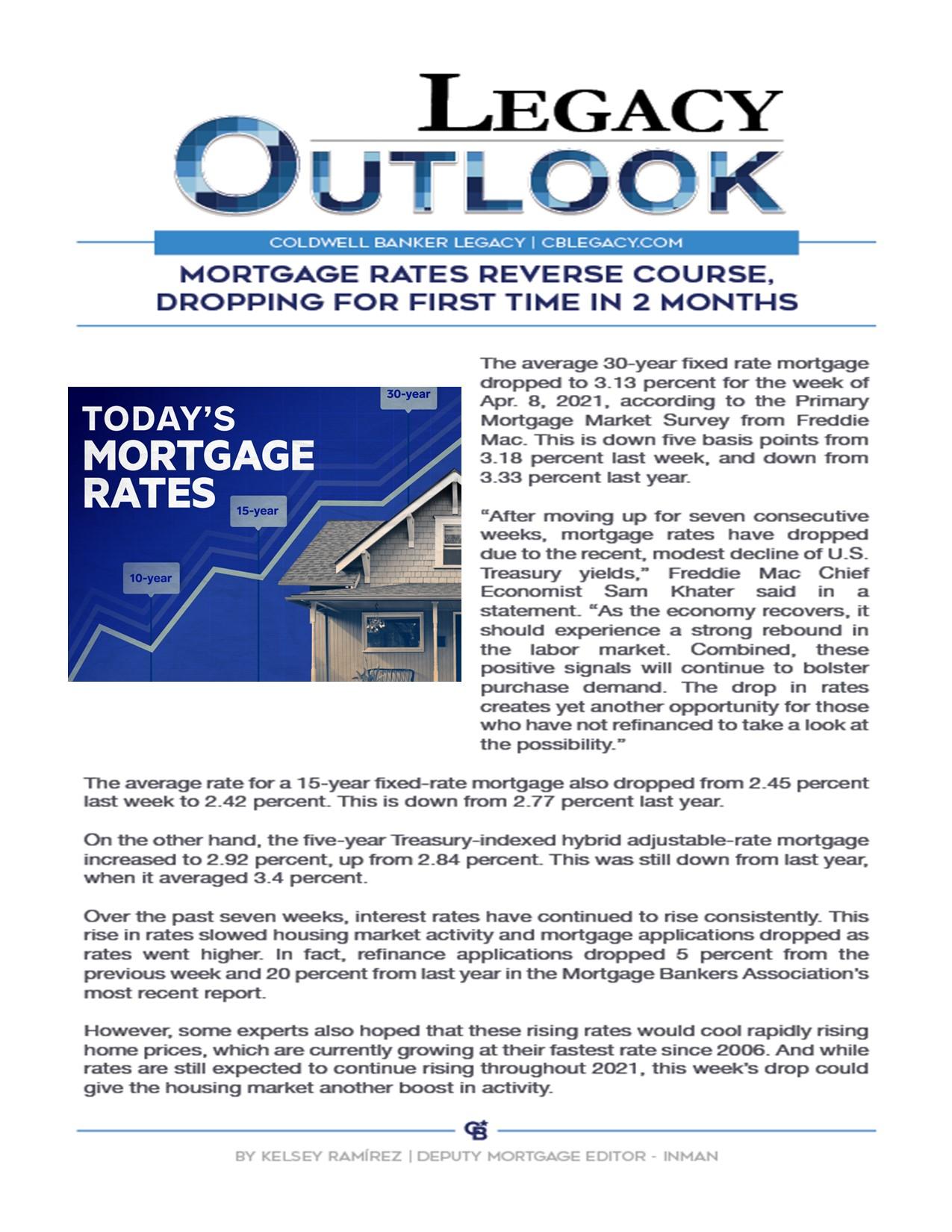 Mortgage Rates Reverse Main Photo