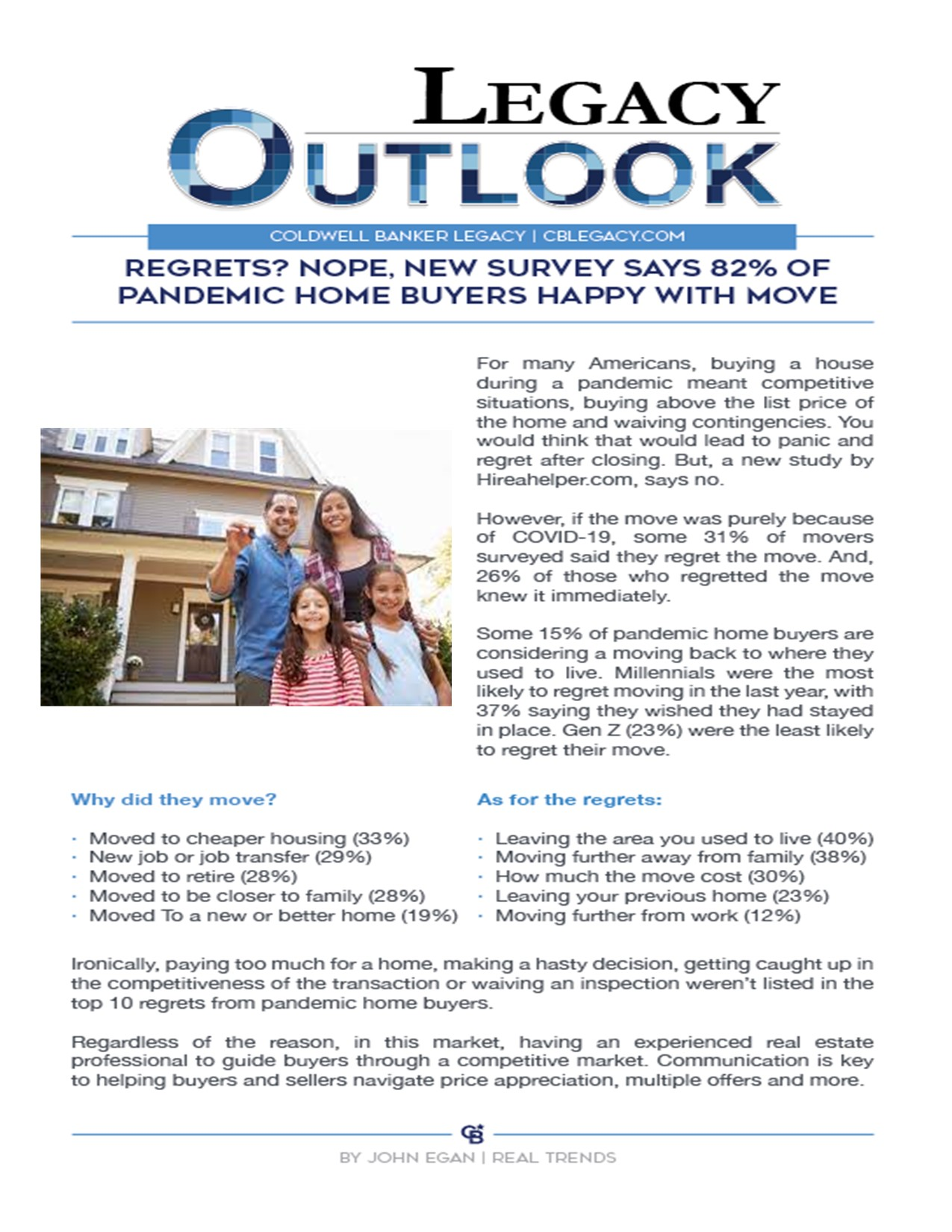Happy Covid Homebuyers Main Photo