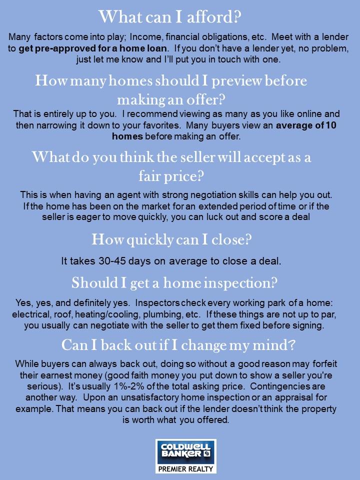 Top Buyer Questions