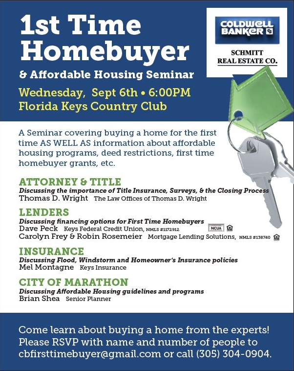 First-time Homebuyer And Affordable Housing Seminar
