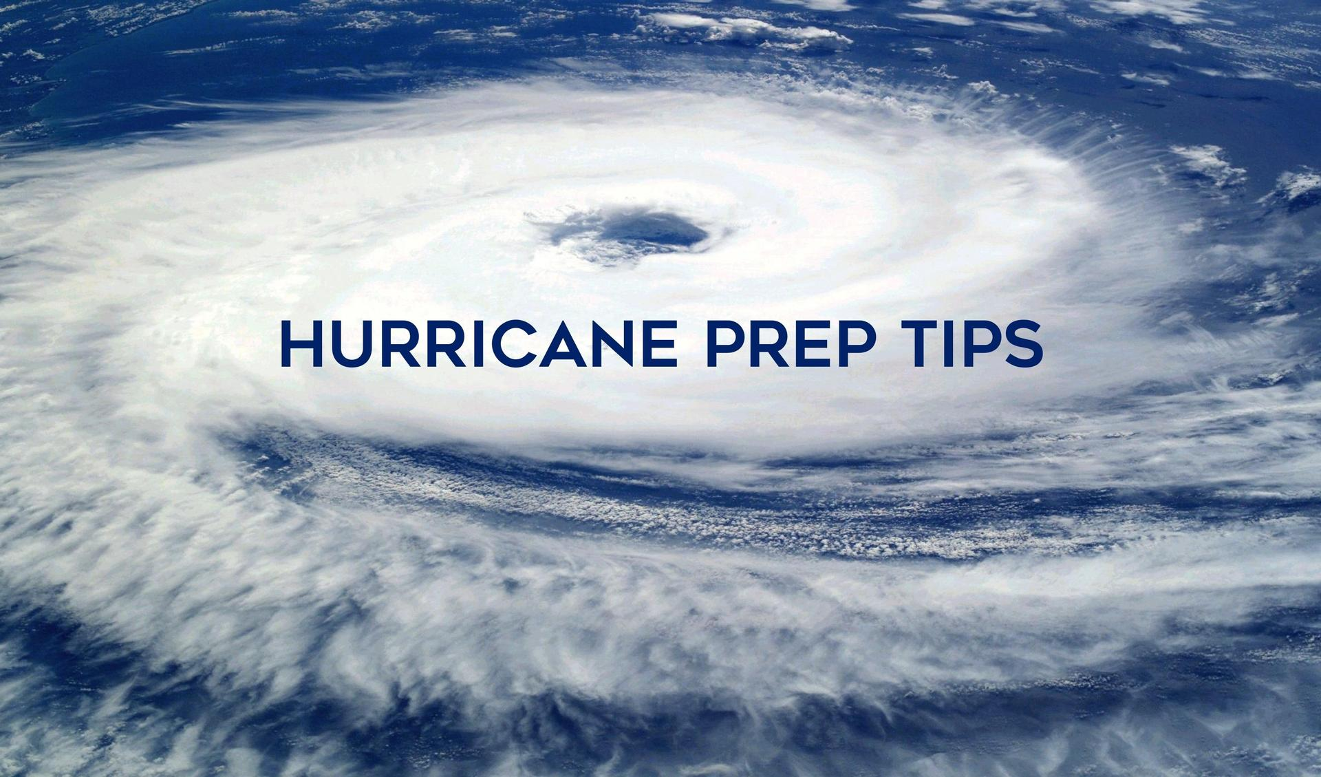 Hurricane Preparation Tips Main Photo