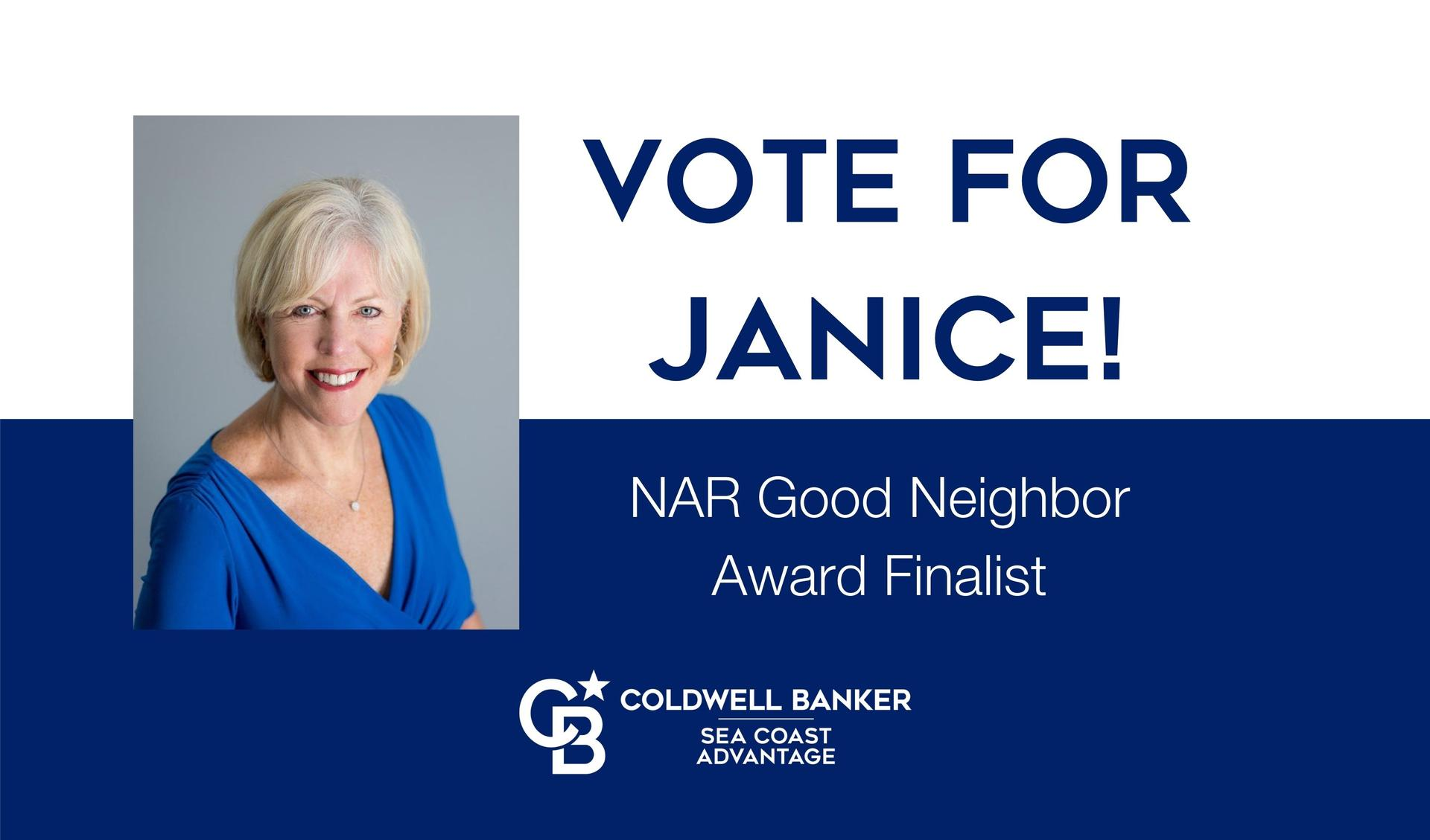 Janice Sialiano NAR Good Neighbor Award Finalist Main Photo