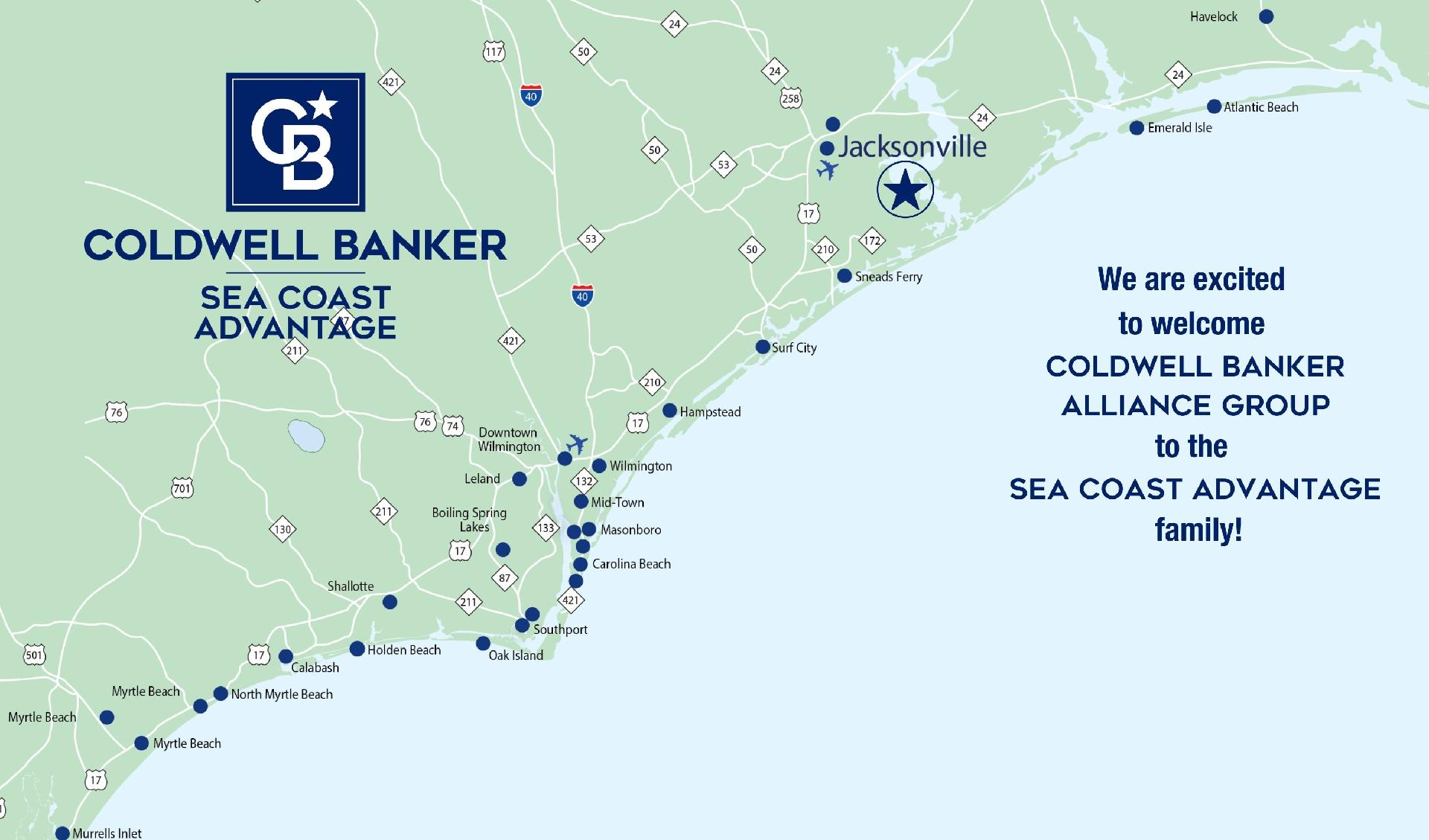 Coldwell Banker Alliance Group Joins Coldwell Banker Sea Coast Advantage Main Photo