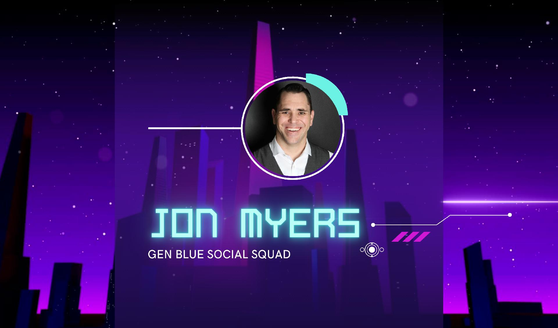 Jonathan Myers Named to National Coldwell Banker Gen Blue Social Squad Main Photo