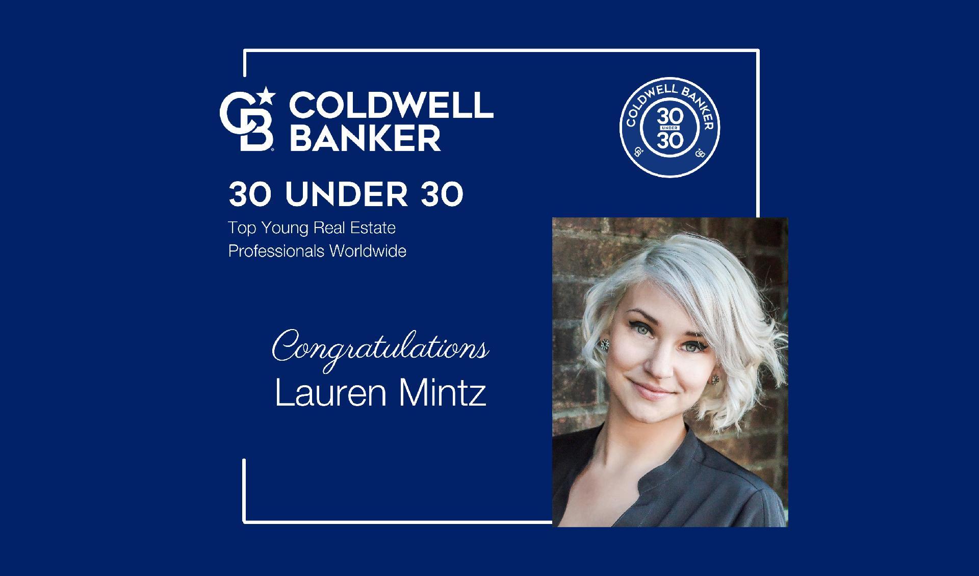 Lauren Mintz Named to Coldwell Banker International 30 Under 30 Main Photo