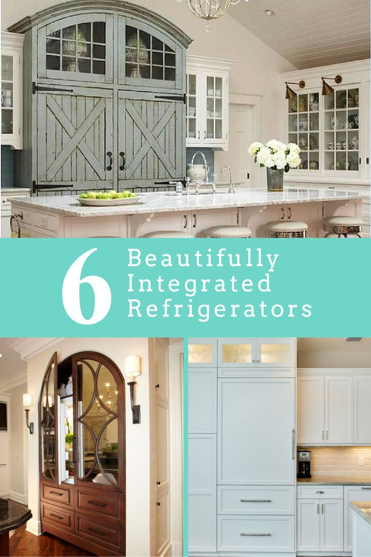 6 Beautifully Integrated Refrigerators Main Photo