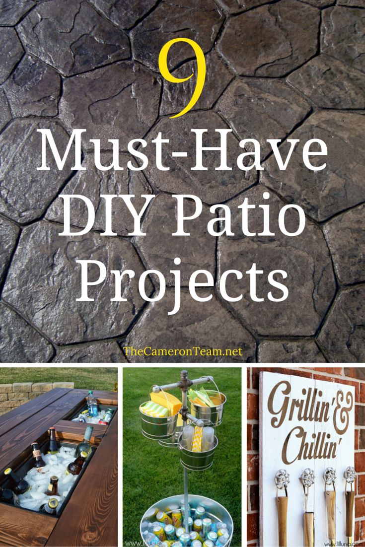 9 Must-Have DIY Patio Projects Main Photo
