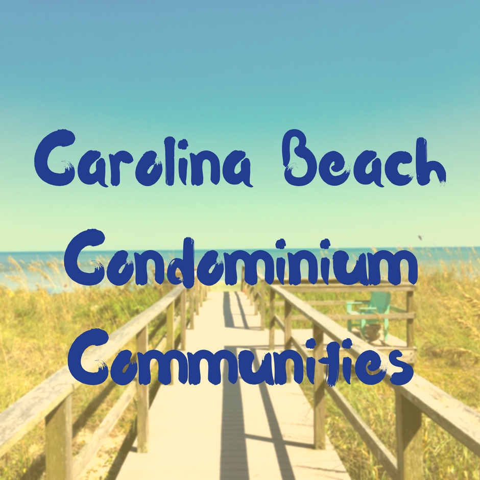 Carolina Beach Condominium Communities Main Photo