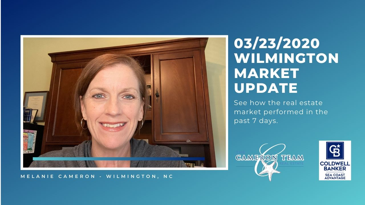 March 23, 2020 Wilmington Real Estate Market Update Main Photo