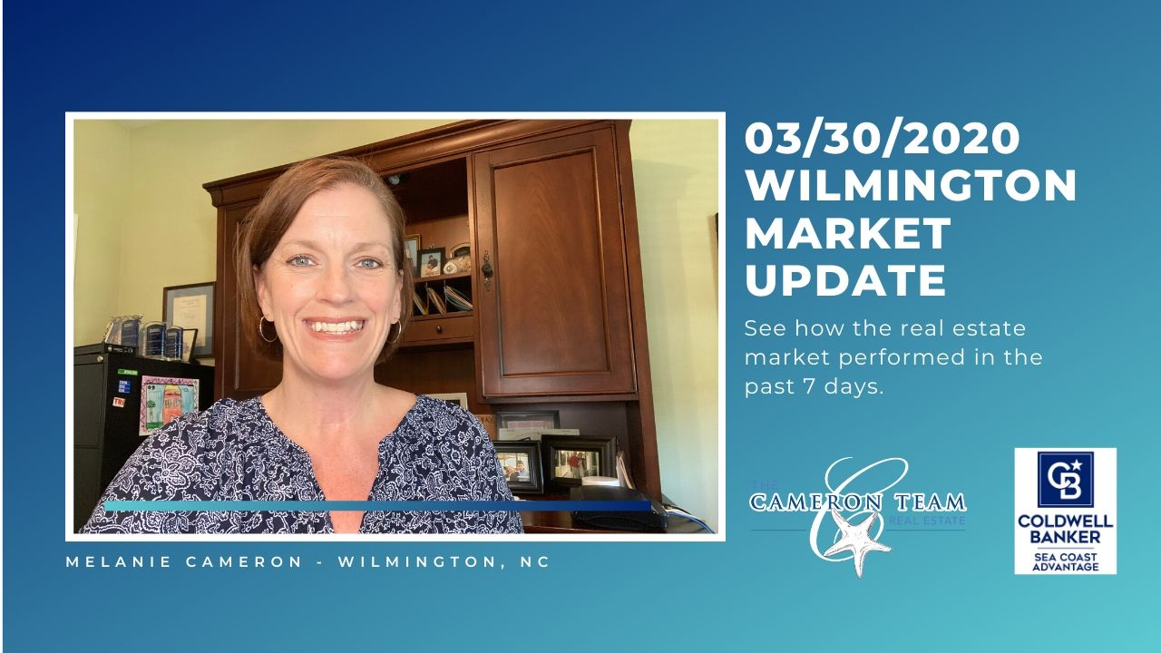 March 30, 2020 Wilmington Real Estate Market Update Main Photo