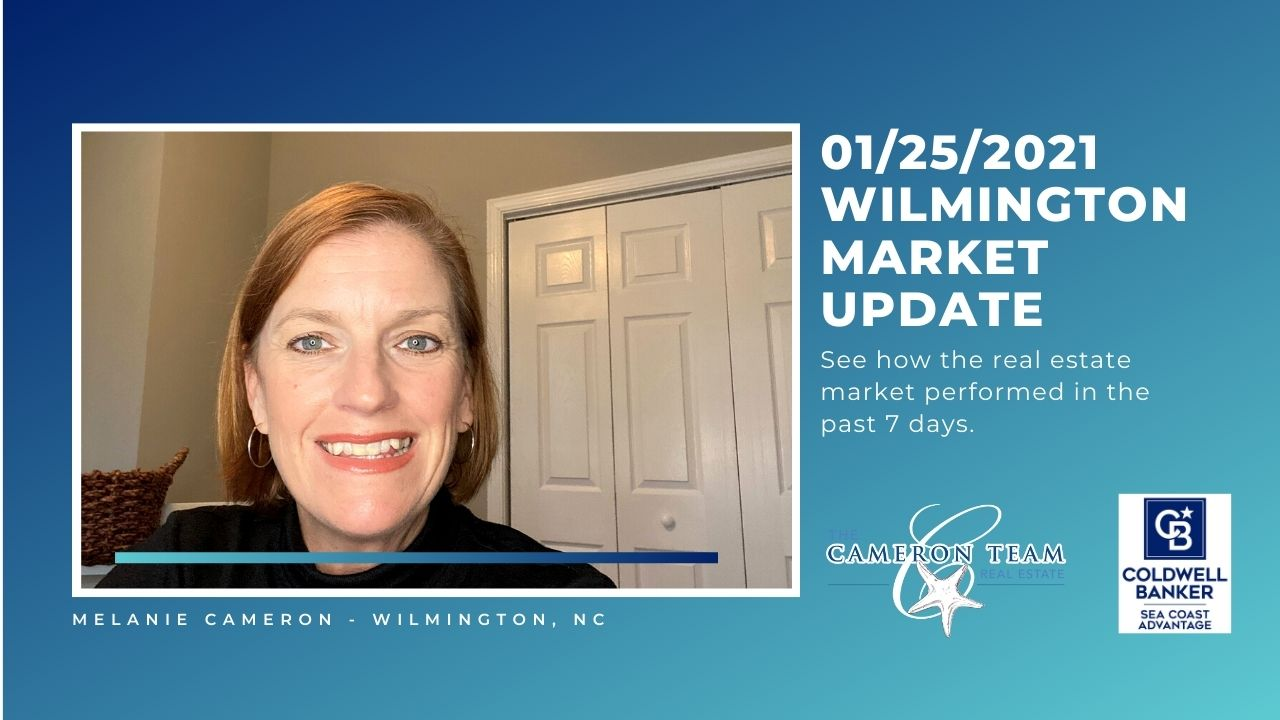 January 25, 2021 Wilmington Real Estate Market Update Main Photo